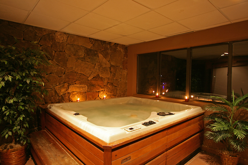 Jacuzzi indoor  indoor location